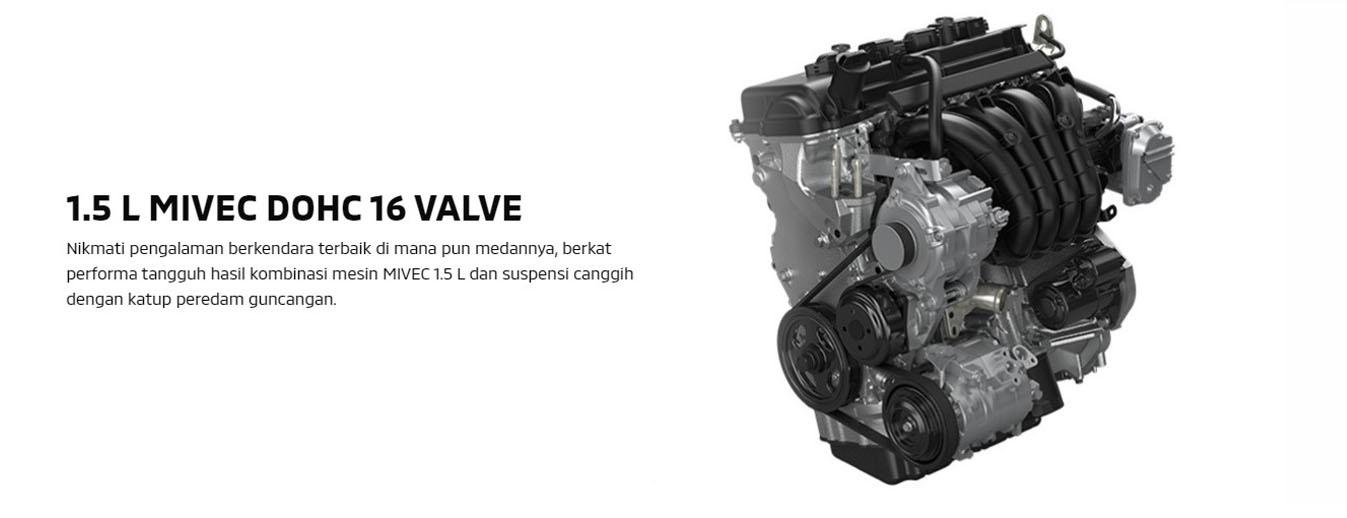 1,5 L Mivec DOHC 16 Valve