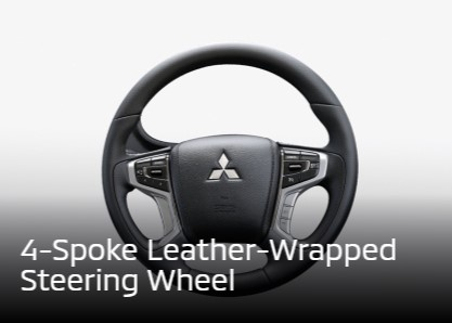 Leather Wrapped Steering