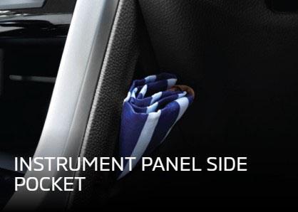 Panel Side Pocket