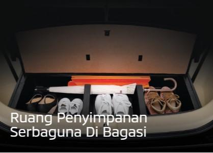 Ruang Penyimpanan Di Bagasi